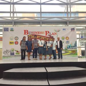 MPC winning 4th placer during the General Santos City 9th Business Plan Competition.